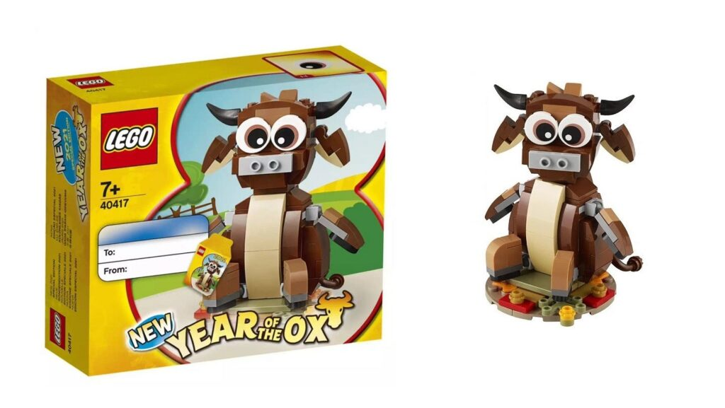 Lego 40417 Year Of The Ox Availability Details Jay S Brick Blog