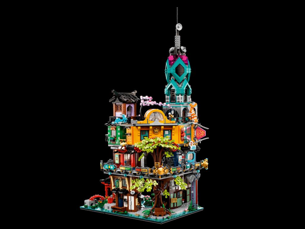 Official photos and details of LEGO 71741 Ninjago City ...