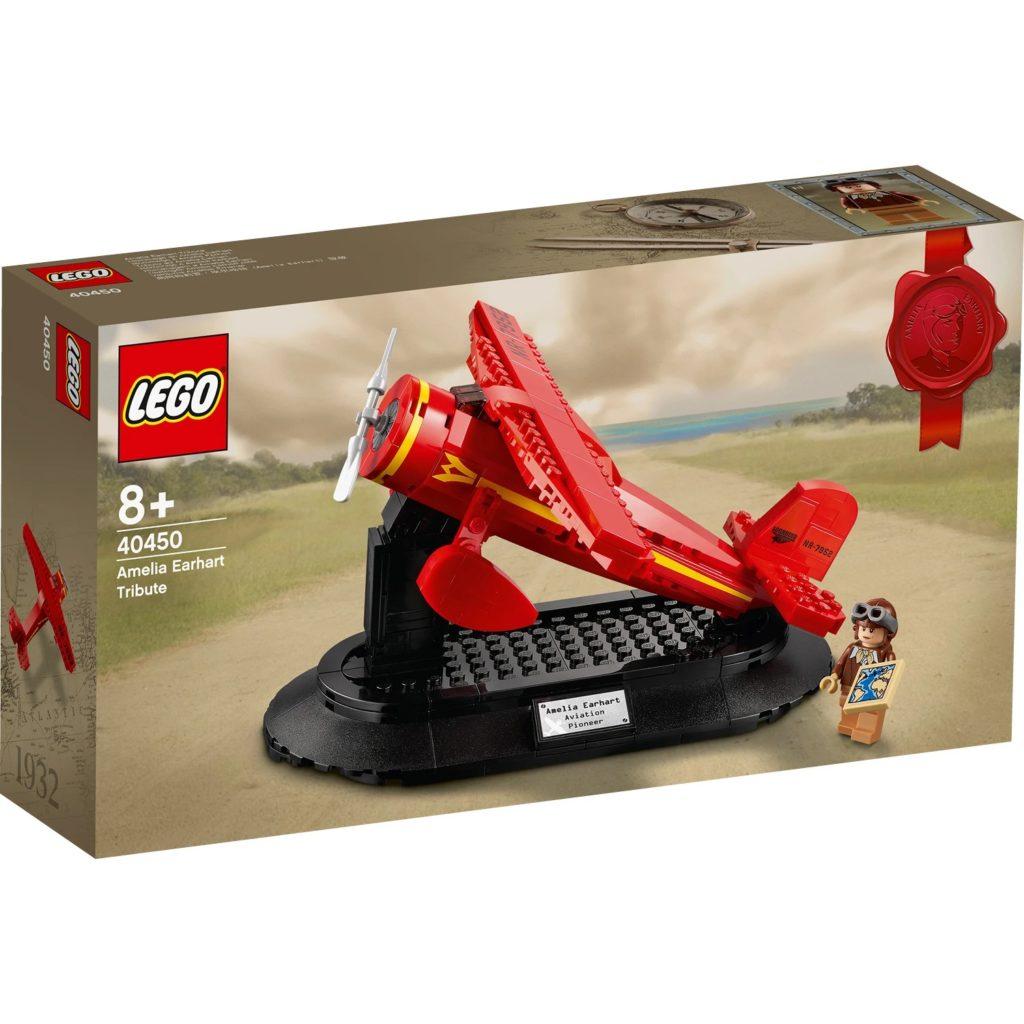 LEGO 40450 Amelia Earhart Box