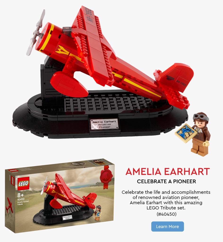 LEGO 40450 Amelia Earhart Email