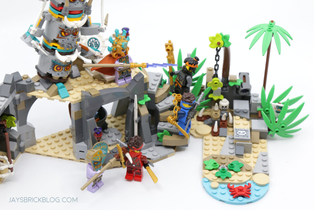 LEGO 71747 The Keepers Village Action Scene
