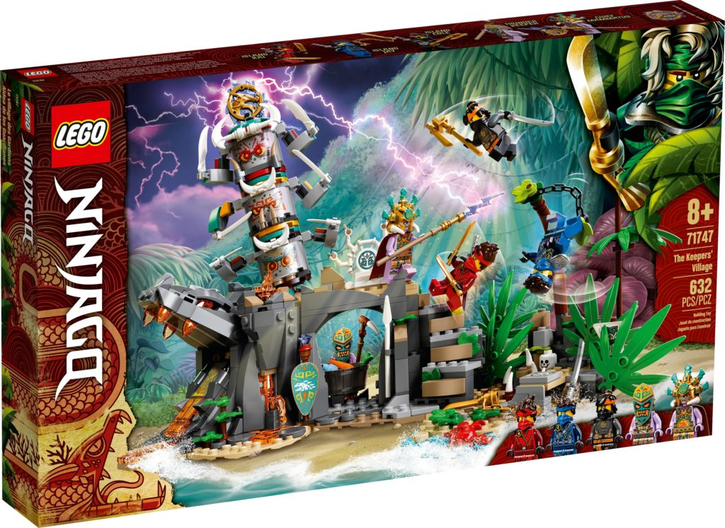LEGO 71747 The Keepers Village Box