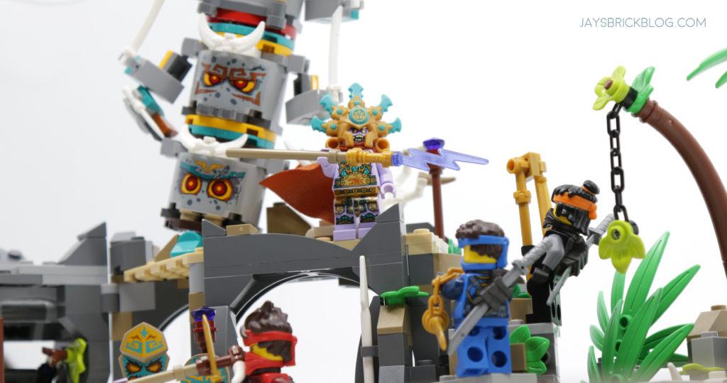 LEGO 71747 The Keepers Village Chief Mammatus Rod