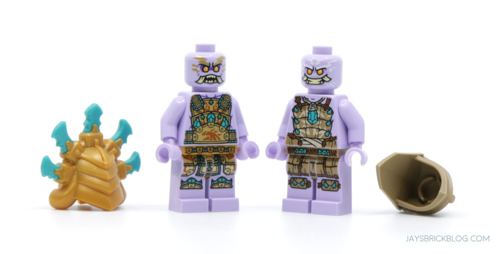 LEGO 71747 The Keepers Village Chief Mammatus and Thunder Keeper Face