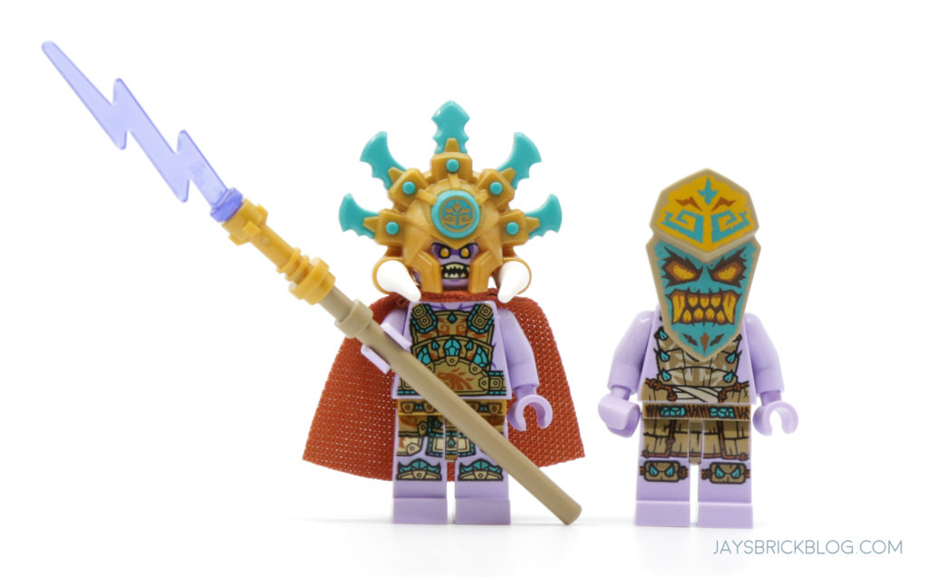 LEGO 71747 The Keepers Village Chief Mammatus and Thunder Keeper Minifigures