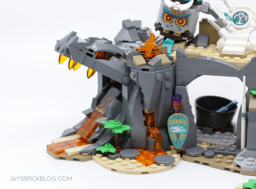 LEGO 71747 The Keepers Village Dragons Head