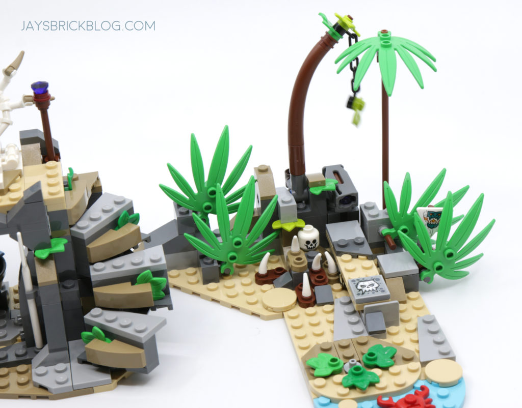LEGO 71747 The Keepers Village Jungle Area
