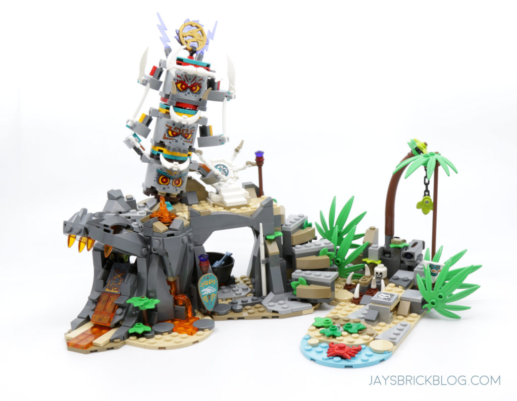 LEGO 71747 The Keepers Village Jungle Lair
