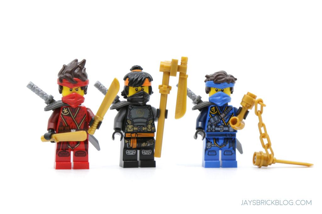 LEGO 71747 The Keepers Village Kai Cole Jay Minifigures