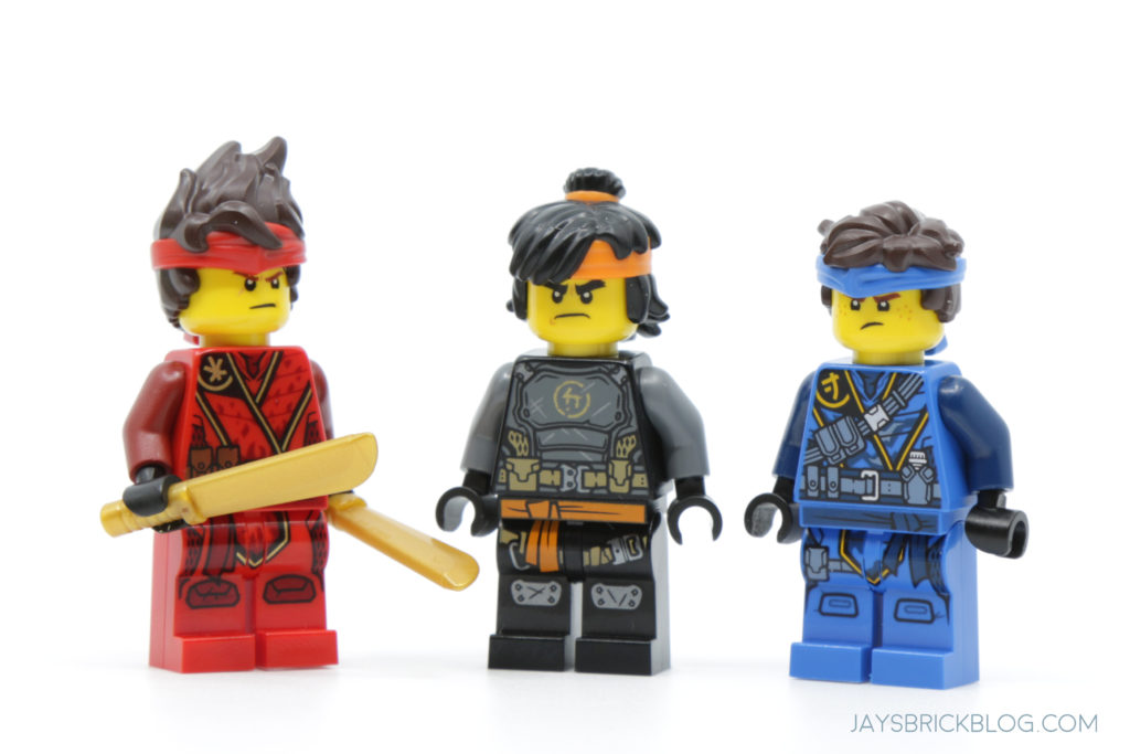 LEGO 71747 The Keepers Village Kai Cole Jay Minifigures Face