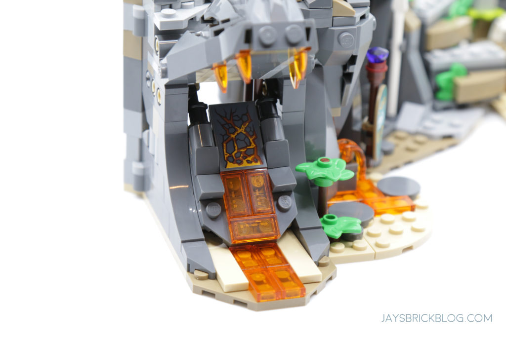 LEGO 71747 The Keepers Village Lava Tongue