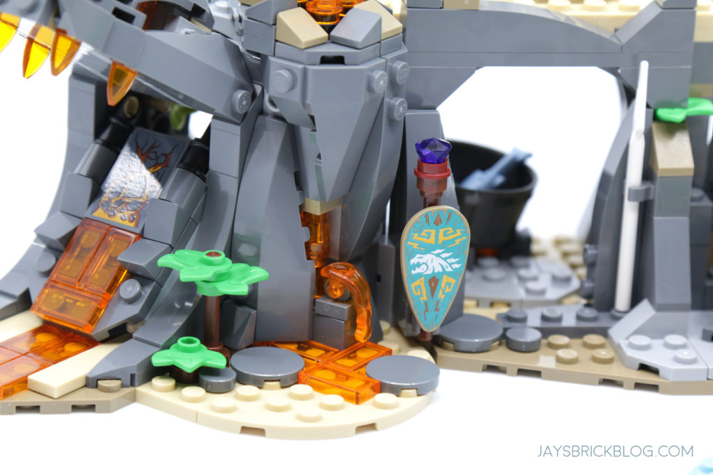 LEGO 71747 The Keepers Village Lava an Shield