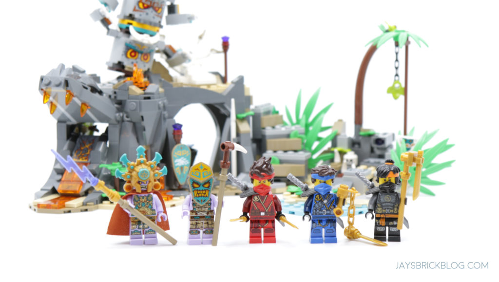 LEGO 71747 The Keepers Village Minifigures
