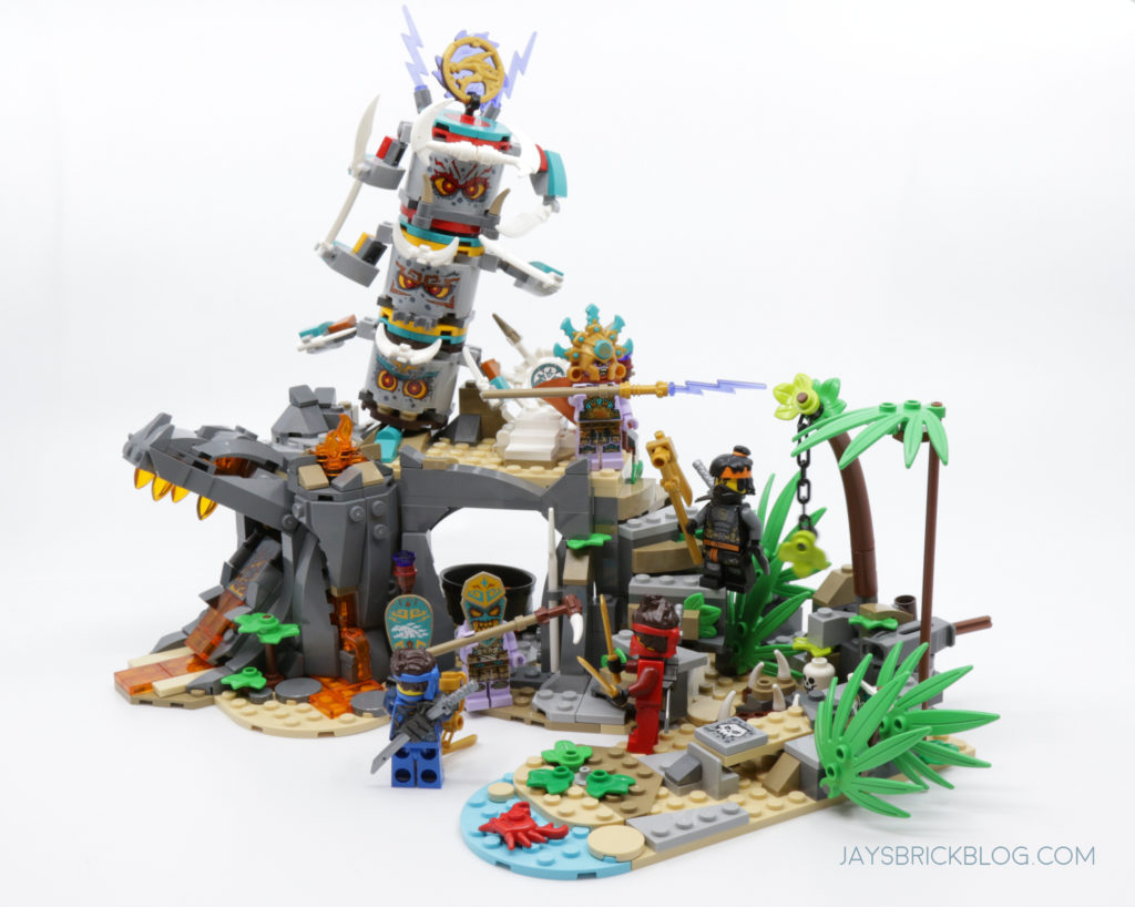 LEGO 71747 The Keepers Village Set Photo