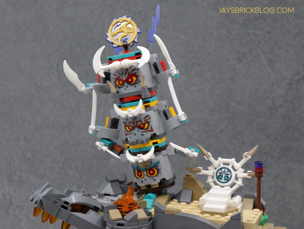 LEGO 71747 The Keepers Village Stone Pillar