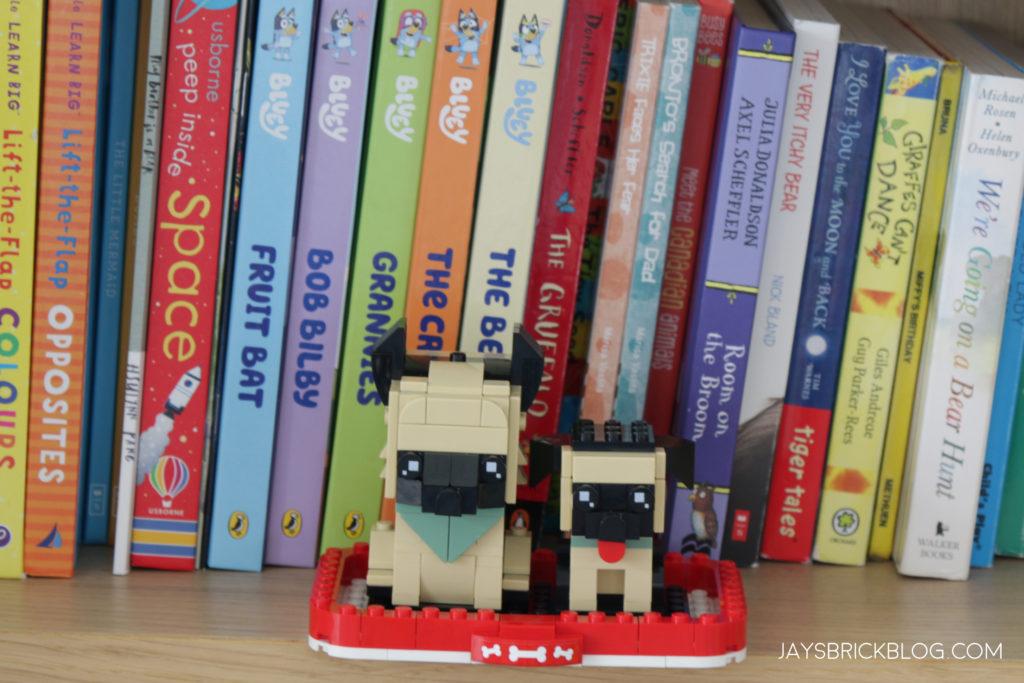 LEGO Brickheadz Pets German Shepherd