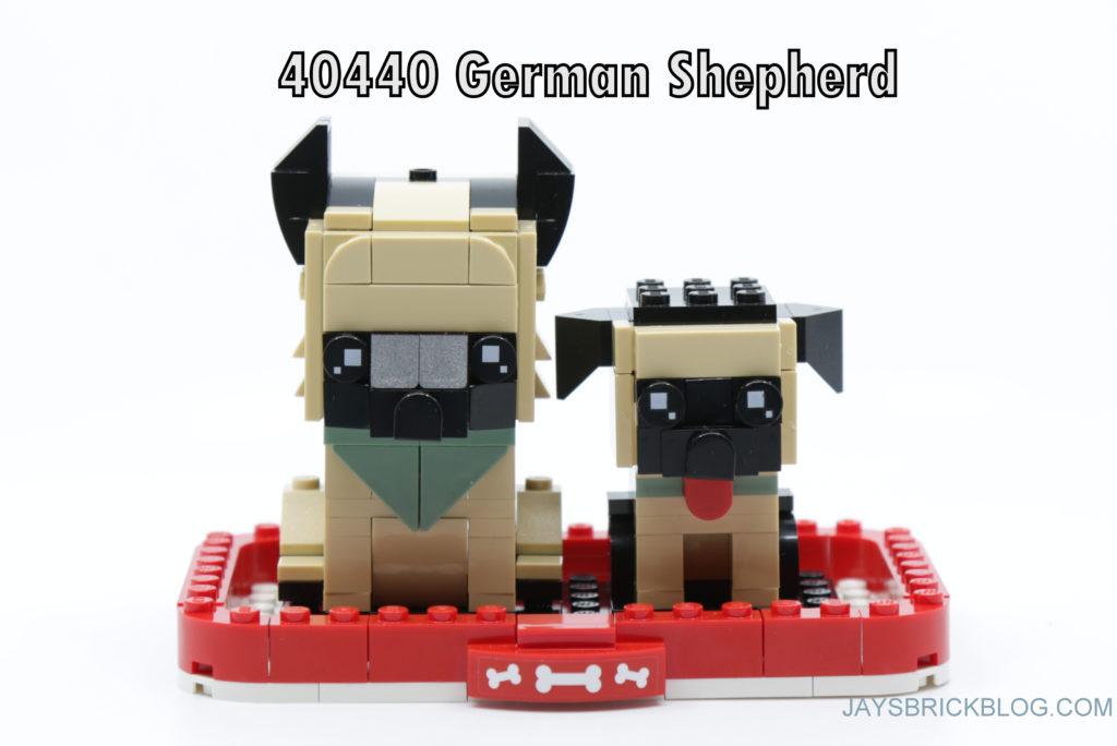 LEGO Brickheadz Pets Wave 1 40440 German Shepherds