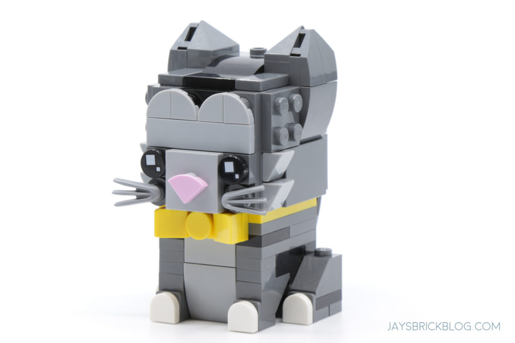 LEGO Brickheadz Pets Wave 1 40441 Shorthair Cat Front