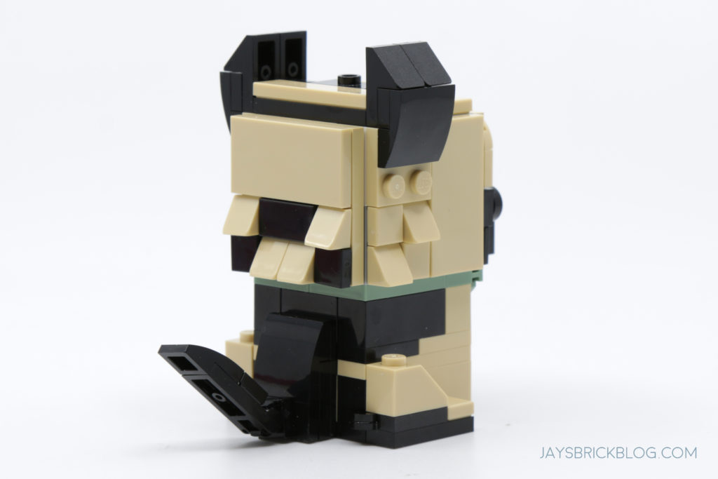 LEGO Brickheadz Pets Wave 1 German Shepherd Back