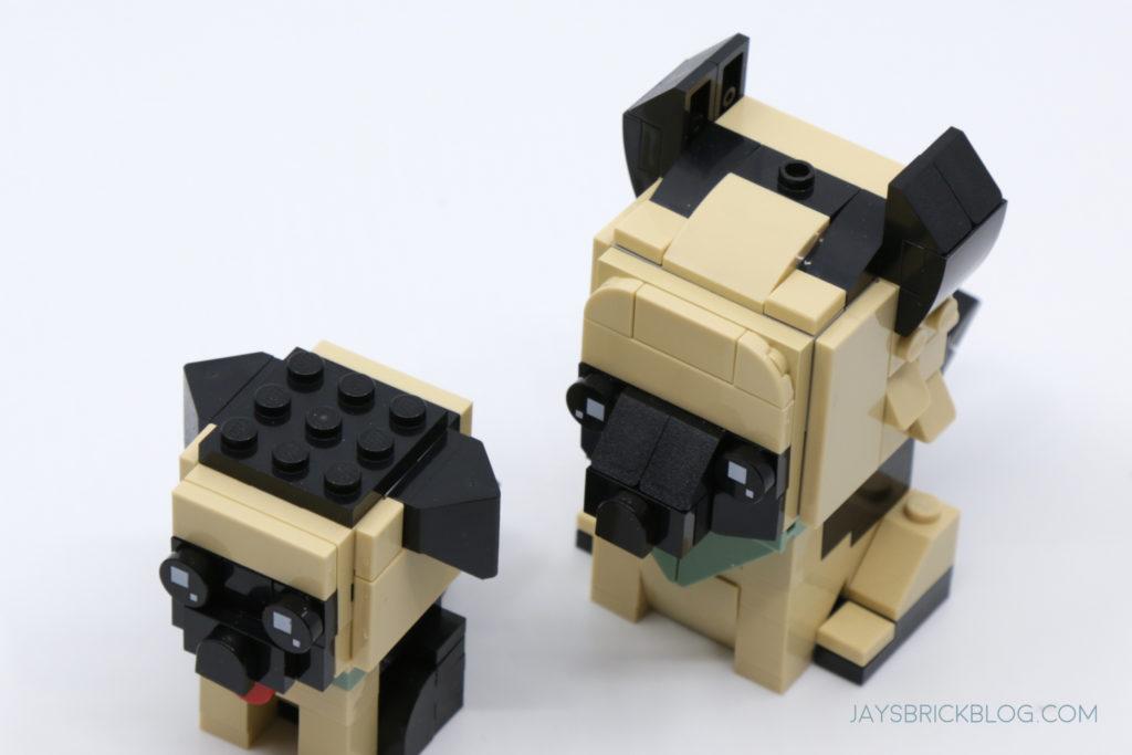 LEGO Brickheadz Pets Wave 1 German Shepherd Heads
