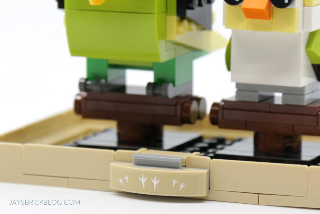 LEGO Brickheadz Pets Wave 2 40443 Budgie Alternate Plate