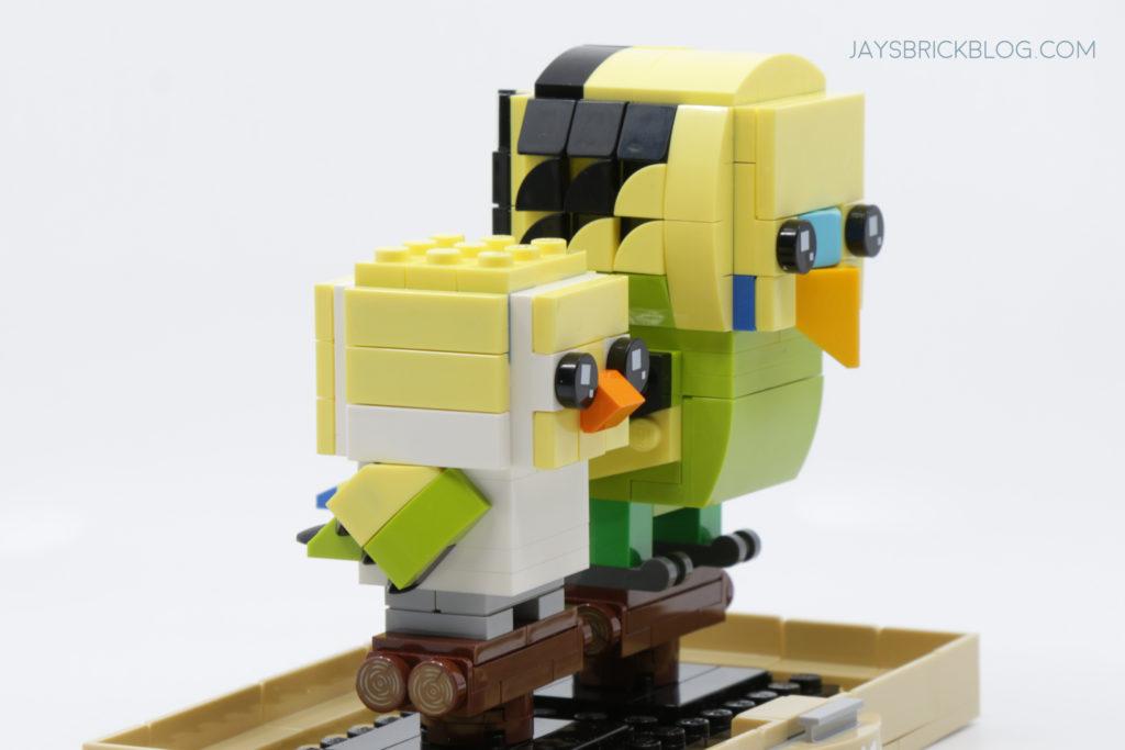 LEGO Brickheadz Pets Wave 2 40443 Budgie Baby Budgie Side