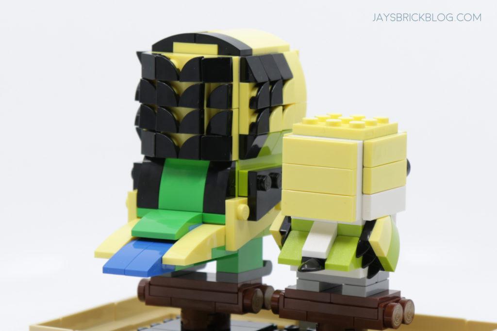 LEGO Brickheadz Pets Wave 2 40443 Budgie Back View