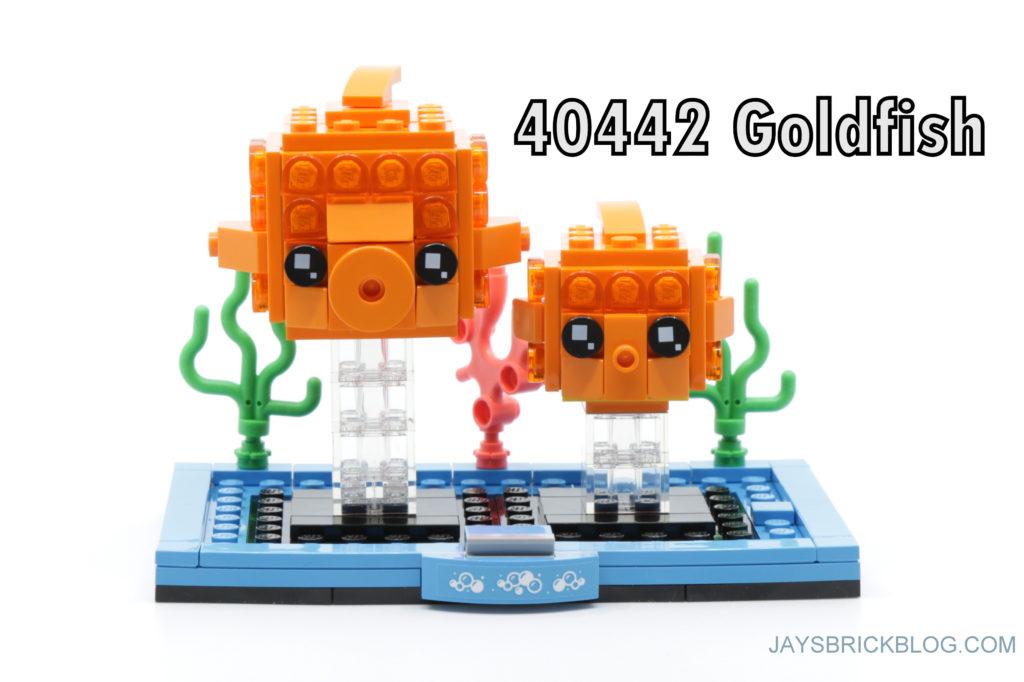 LEGO Brickheadz Pets Wave 2 40443 Goldfish