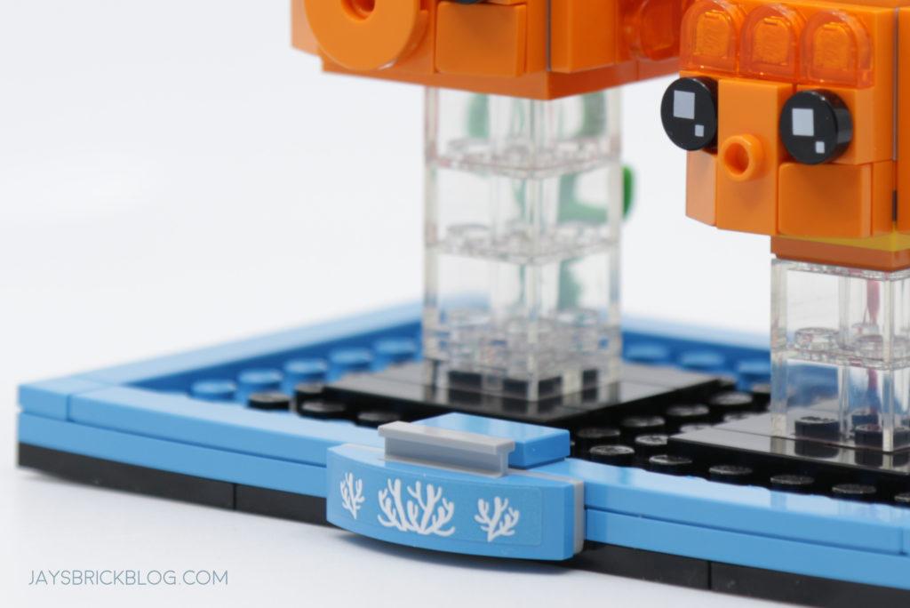 LEGO Brickheadz Pets Wave 2 40443 Goldfish Alternate Plate