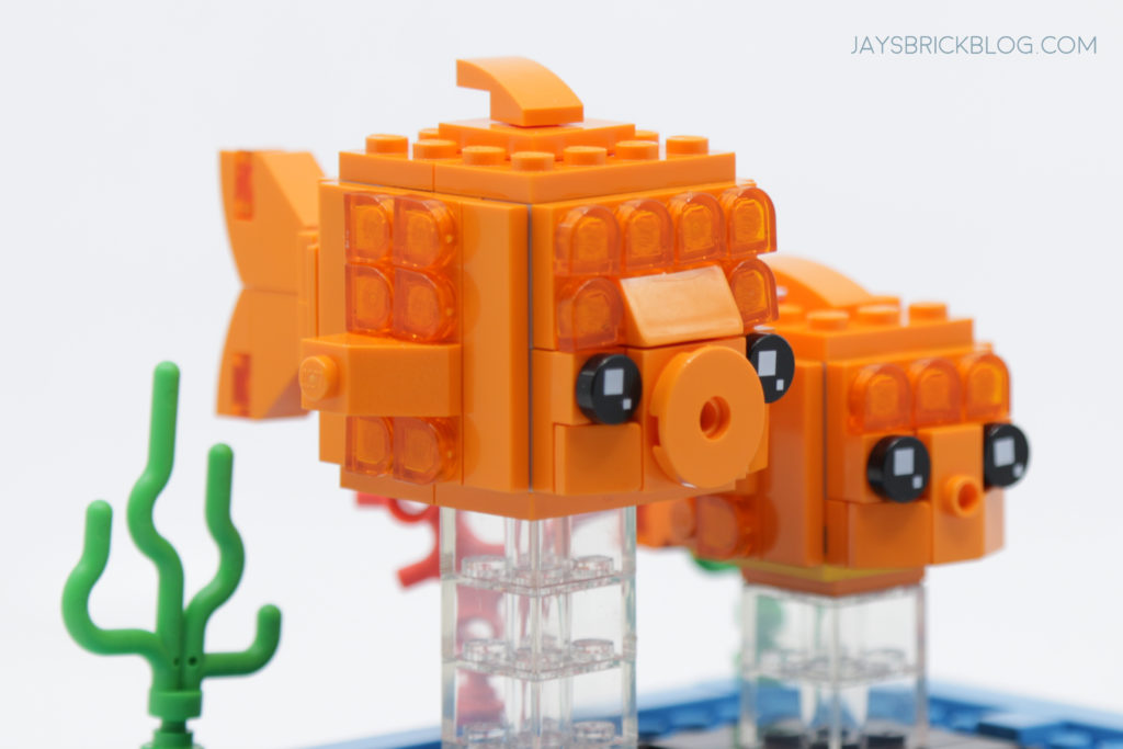 LEGO Brickheadz Pets Wave 2 40443 Goldfish Side
