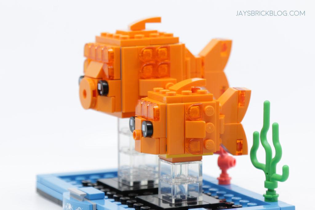 LEGO Brickheadz Pets Wave 2 40443 Goldfish Side 2