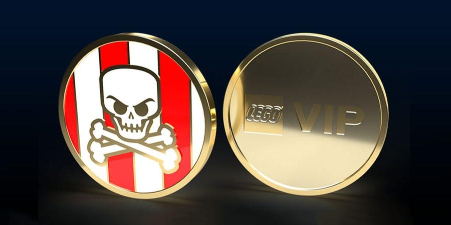 LEGO VIP Pirate Coin