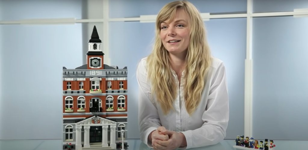 Astrid Graabaek LEGO Designer Town Hall
