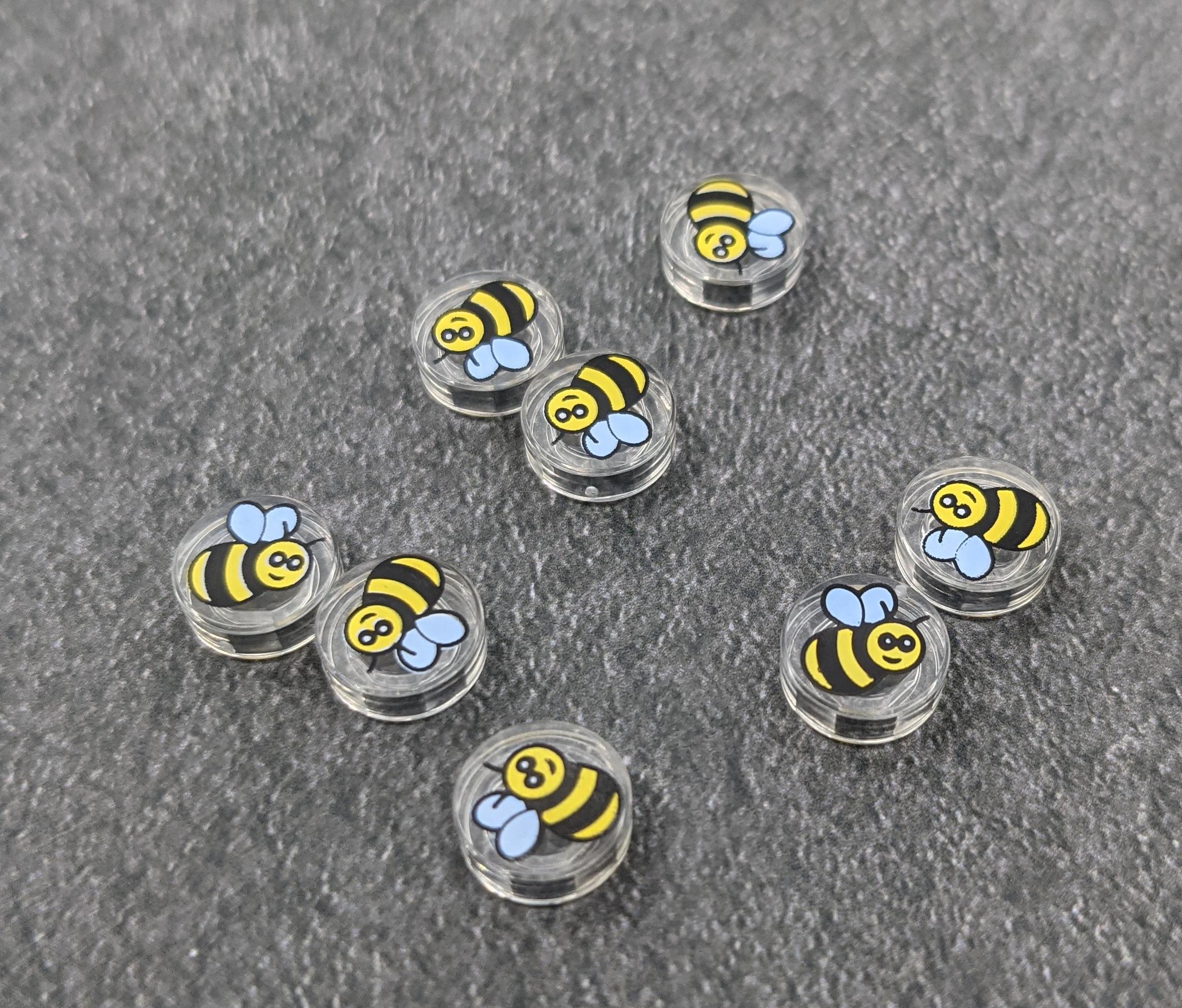 LEGO 21326 Winnie the Pooh Bee Tiles