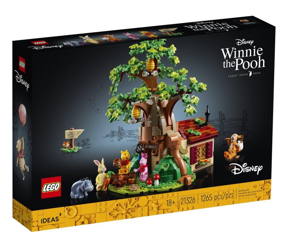LEGO 21326 Winnie the Pooh Box