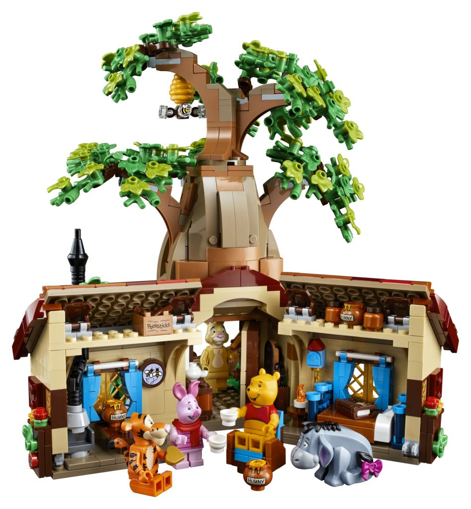 LEGO 21326 Winnie the Pooh Insides