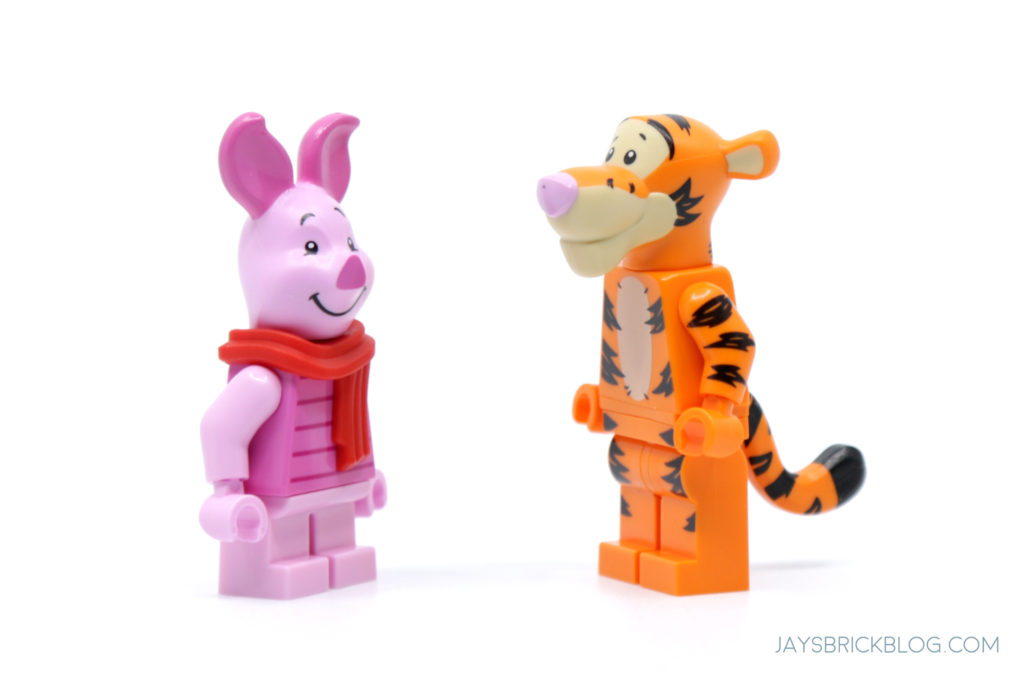 LEGO 21326 Winnie the Pooh LEGO Piglet and Tigger
