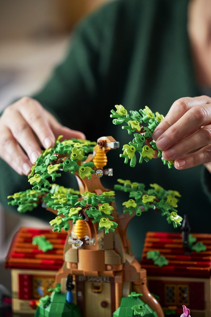 LEGO 21326 Winnie the Pooh Lifestyle Foliage