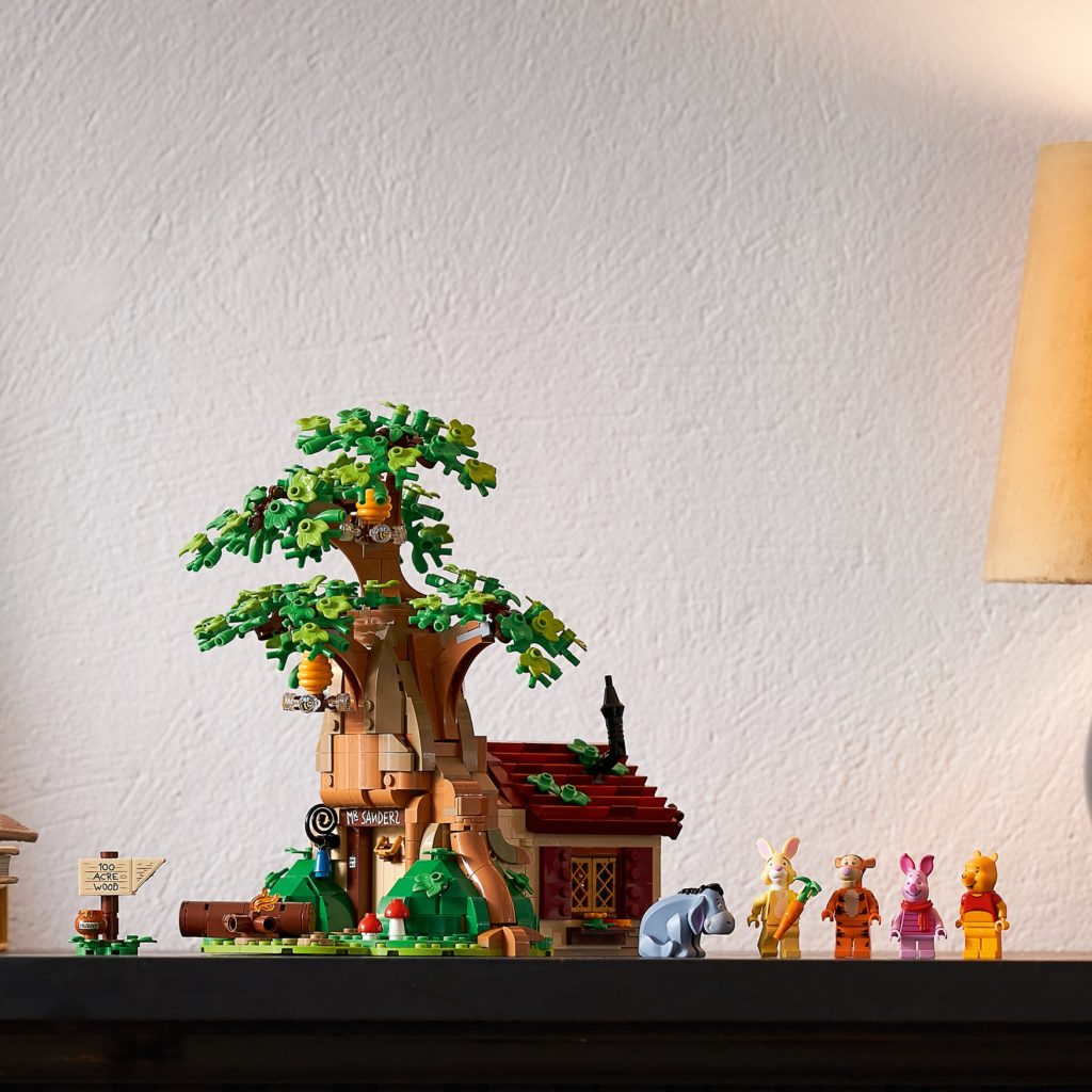 LEGO 21326 Winnie the Pooh Lifestyle Minifigs