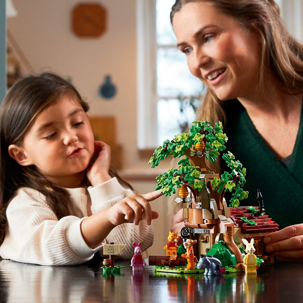 LEGO 21326 Winnie the Pooh Lifestyle Play