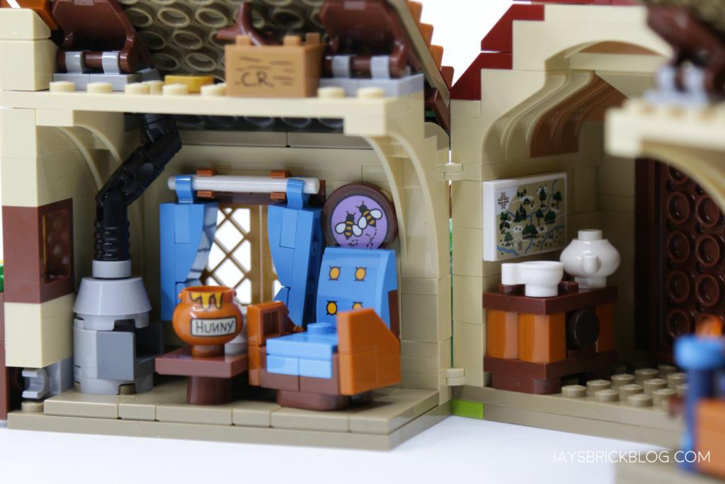 LEGO 21326 Winnie the Pooh Living Room