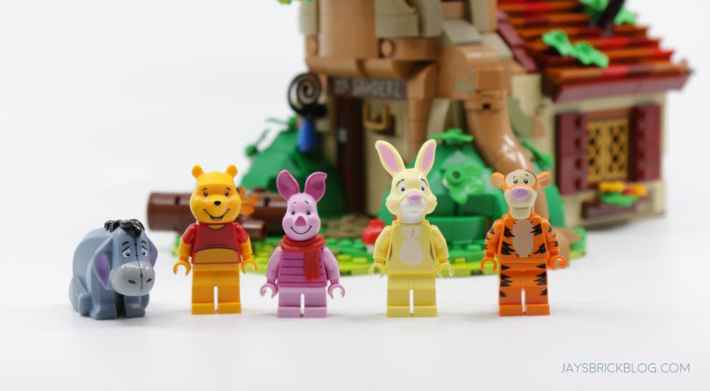 LEGO 21326 Winnie the Pooh Minifigures 1