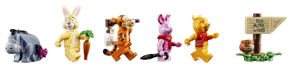 LEGO 21326 Winnie the Pooh Minifigures