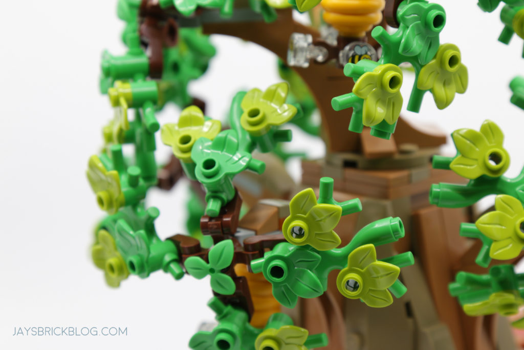 LEGO 21326 Winnie the Pooh Oak Tree Foliage