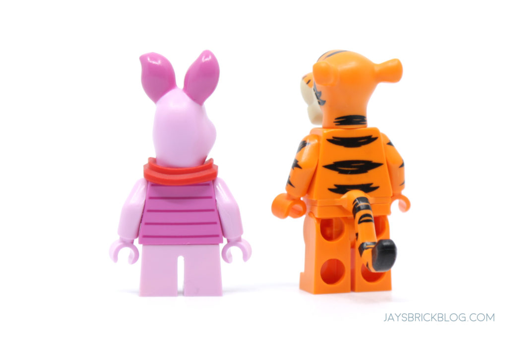 LEGO 21326 Winnie the Pooh Piglet and Tigger Back Printing