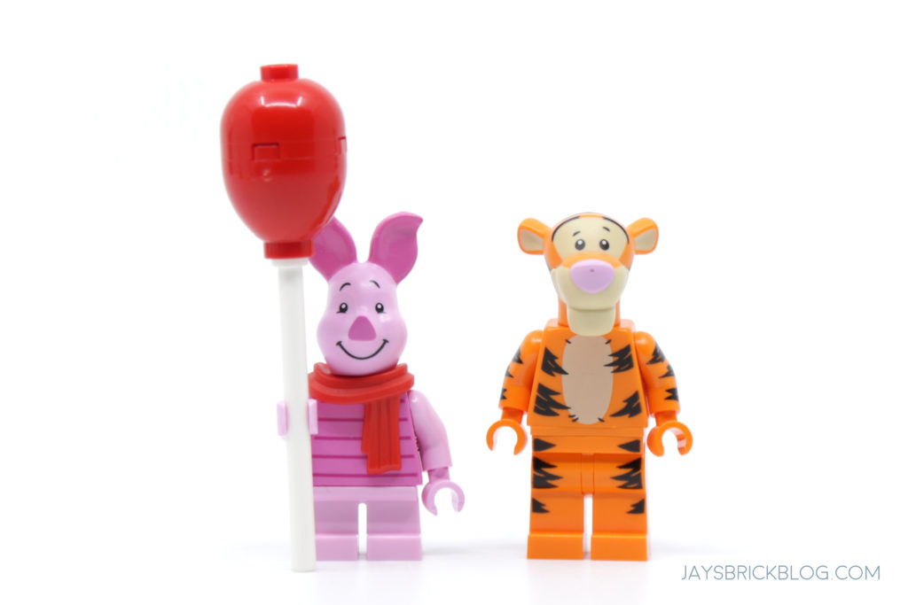 LEGO 21326 Winnie the Pooh Piglet and Tigger Minifigures