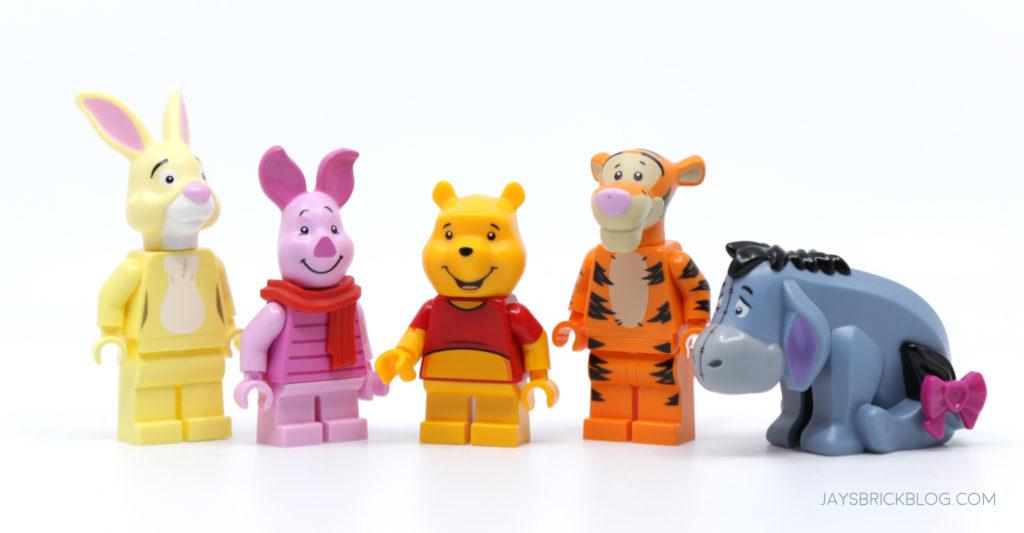 LEGO 21326 Winnie the Pooh Pooh wth Short Legs