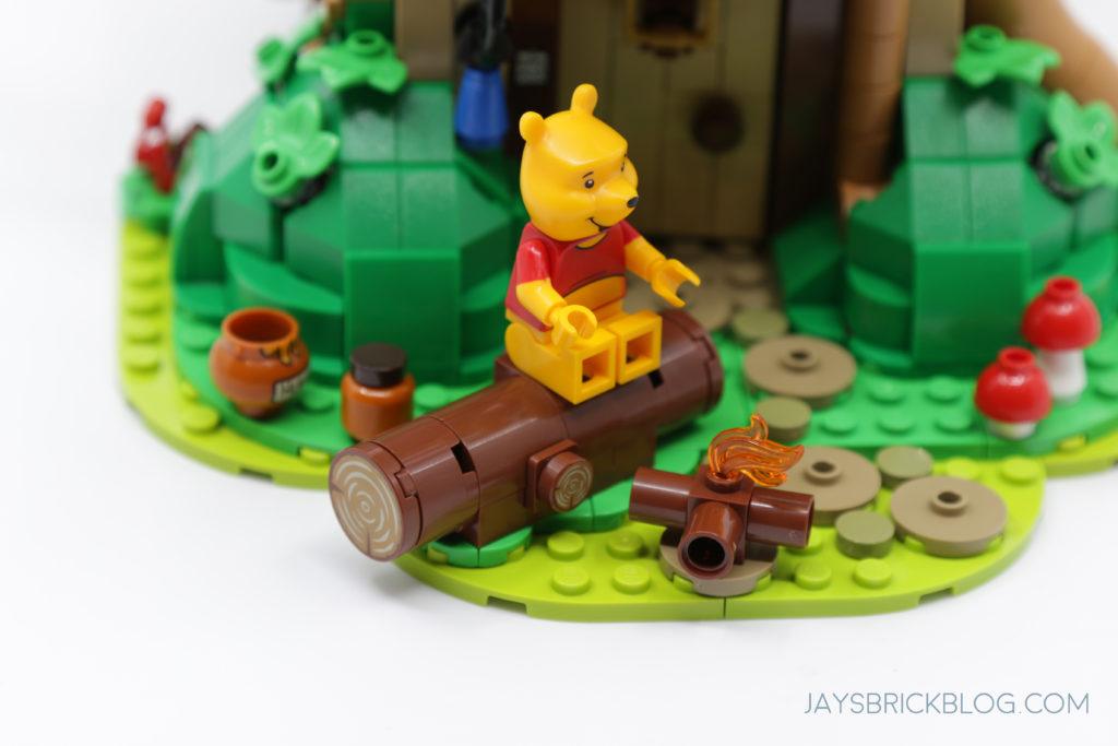 LEGO 21326 Winnie the Pooh Poohs Log
