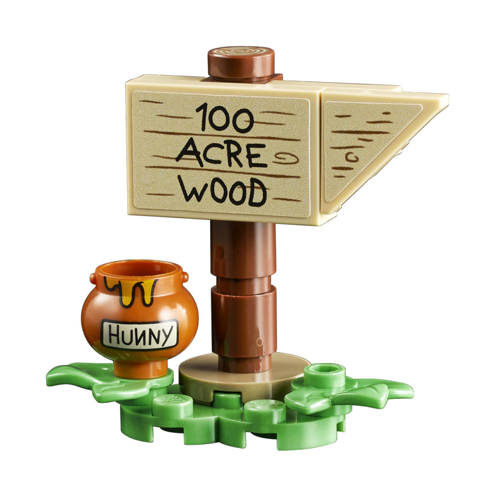 LEGO 21326 Winnie the Pooh Product Sign
