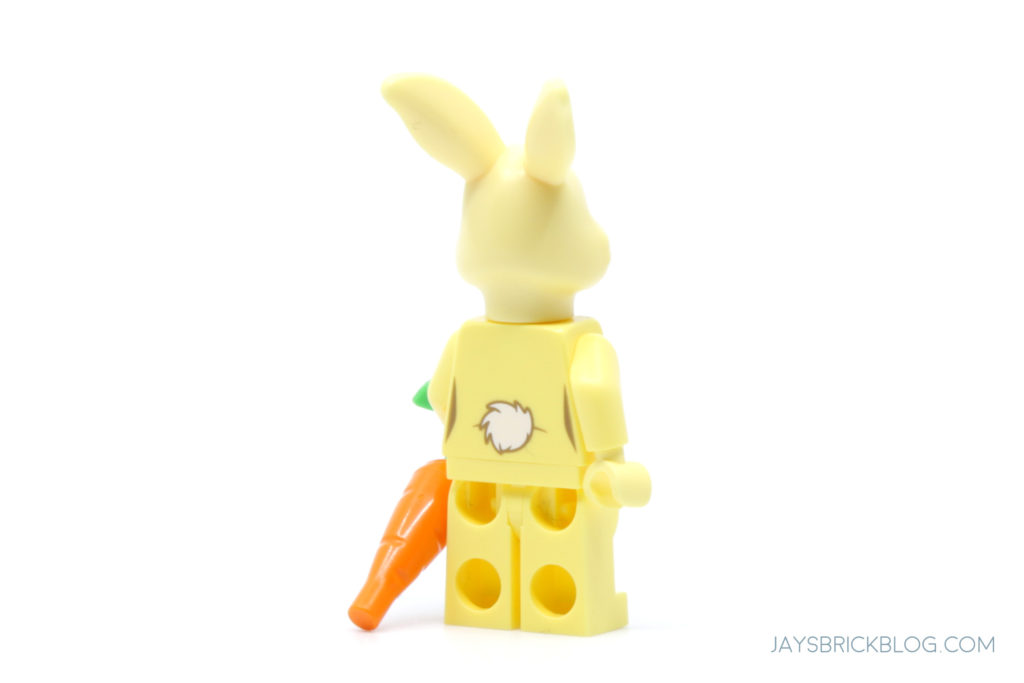 LEGO 21326 Winnie the Pooh Rabbit Minifigure Back